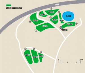 棚田市民農園区画図2